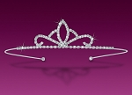 Tiara Online 5.00 Ct Certified Diamond 14K Gold Bridal Hair Accessories